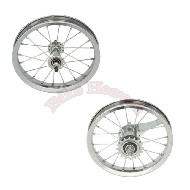 "WHEELMASTER   12-1//2/"" x 2-1//4/"" CHROME BICYCLE FRONT WHEEL"