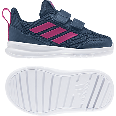 Adidas childrens shoes baby girl athletics race altarun sneakers   eBay
