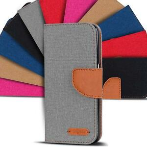 Apple-iPhone-5-5s-SE-Phone-PU-Leather-Magnetic-Flip-Case-Wallet-Denim-Cover-Slim
