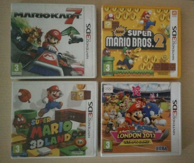 Spil, Nintendo 3DS, Super Mario 3D Land New Super Mario…