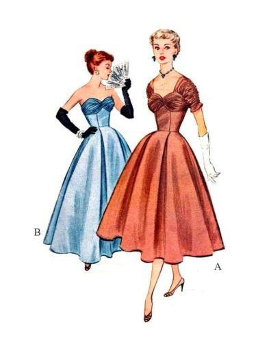 173 DRAPED BALL GOWN PATTERN CHOOSE YOUR DOLL SIZE