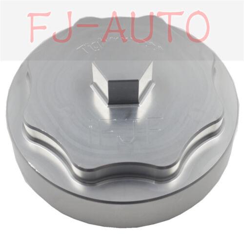 Aluminum Silver for 2010-2016 6.7L Billet Fuel Filter Housing Cap fit model 4500