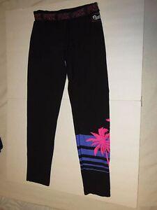 Image Is Loading Victorias Secret PINK Gym Pants Leggings Straight Leg