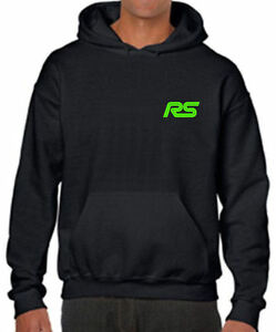 Classic Ford Escort RS Cosworth Retro Silhouette Hoodie All Sizes Present