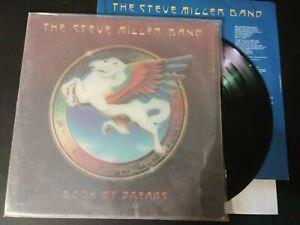 """STEVE MILLER BAND EX+/NM BOOK OF DREAMS 12"""" vinyl LP record CAPITOL Classic Rock"""