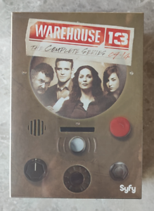 Warehouse 13 The Complete Series (DVD,16-Disc) New Free shipping