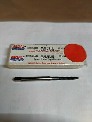 Regal Cutting Tools 008090AS88-4-40 NC H2 2FL Spiral Point Tap w//AlTiN