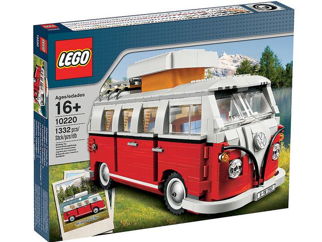 Lego 10220 Volkswagen T1 Camper Van Set  new, factory-boîte scellée