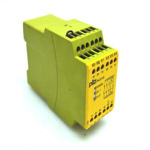 Pilz-Pnoz-X3-24VAC-24VDC-Sicurezza-Rele-5-0-VA-2-5-Watt-50-60-Hz-10AF-6-A