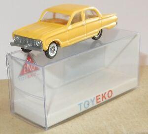 MICRO TOY EKO TOYEKO HO 1//86 1//87 MADE IN SPAIN FORD FALCON REF 2079 IN BOX
