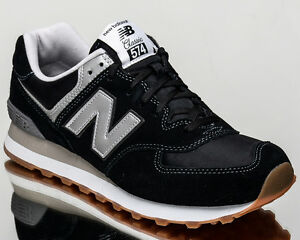 Authentic 176426 New Balance Classics Ml574 Men Black Shoes
