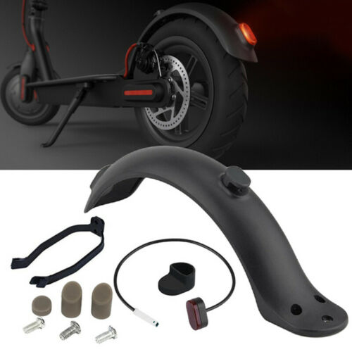 For Xiaomi M365 Pro Electric Scooter Rear Fender Mud Guard Taillight Bracket K`v