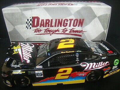 NEW NASCAR 2019 BRAD KESELOWSKI #2 DARLINGTON MILLER LITE 1//24 CAR