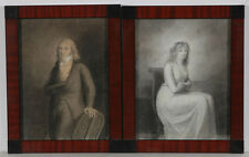 "Anne-Louis de Girodet-Trioson (1767-1824)-Attrib. ""Portraits of Husband a. Wife"""