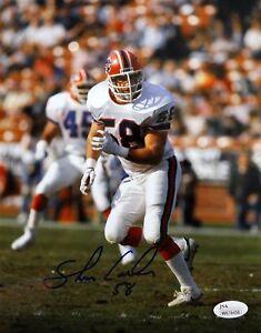 Shane-Conlan-Autographed-8x10-Buffalo-Bills-Running-Photo-JSA-W-Authenticated