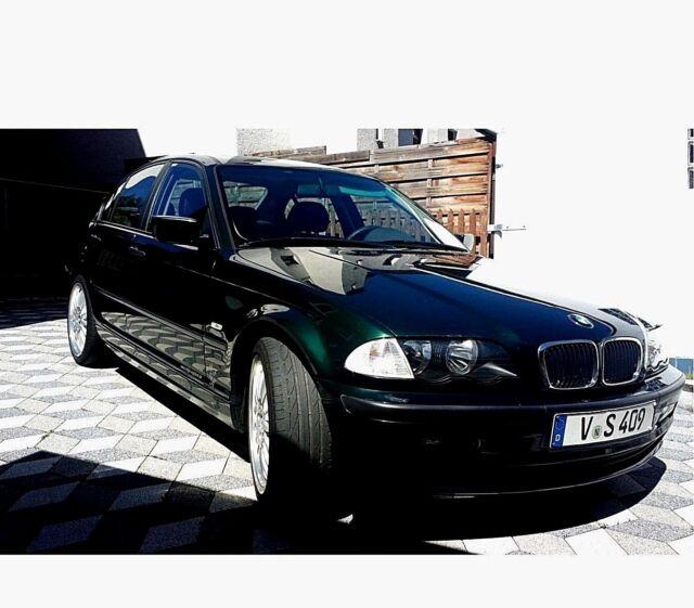 BMW E46 3er Limousine 4Türer unfallfrei sehr gepflegt Navi Fahrwerk, Motor neu