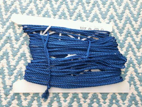 ✂ geniales cordel cuerda azul algodón//Grosor viscosa 3,5 mm METERWARE ✂