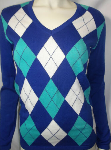 TOMMY HILFIGER womens long sleeves v neck sweater w// flag logo new nwt