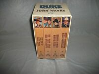Duke Collection The - The Best Of John Wayne Vhs 1992 4-tape Set Free Shipping