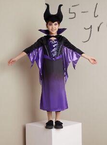 Disney Authentic Maleficent Villain Costume Girls Size 3 4 5//6 7//8 9//10 11//12 13