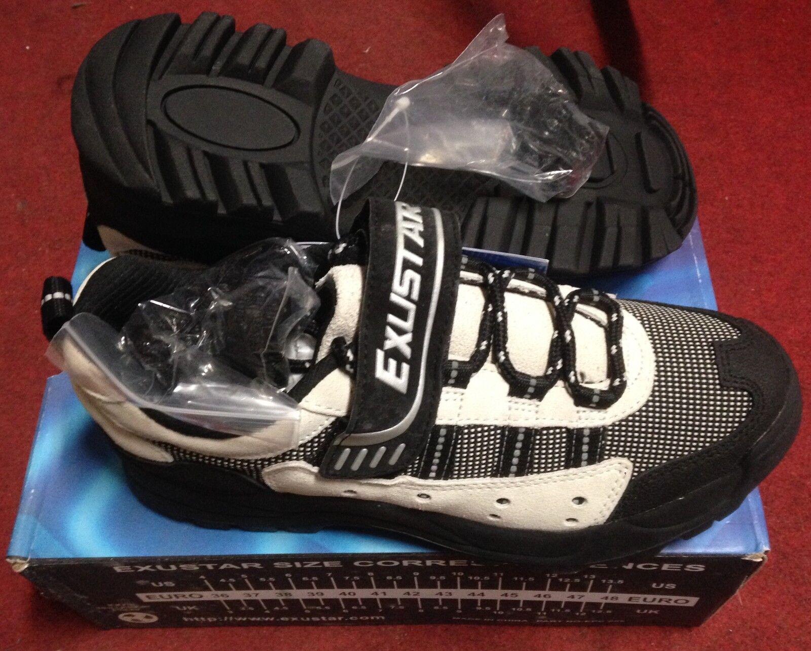 Scarpe bici MTB Exustar ESM820 mountain bike scarpe 37,40,42,48