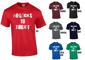 f8da9f6e Bollocks to Brexit T-Shirt - Cool Funny Punk Tee Remain EU Europe ...