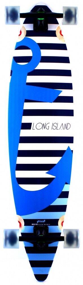 Long Island Boat. Longboard Deck.