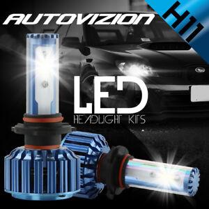 AUTOVIZION LED HID Headlight Conversion kit H11 6000K for 2006-2008 Lexus RX400h