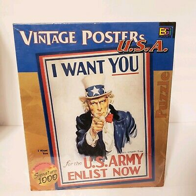 I Want You U.S Army Vintage NEW POSTER Enlist Now