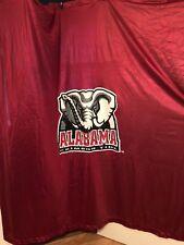 Item 3 University Of Alabama Banner Large Roll Tide Shower Curtain Crimson 72 X 74