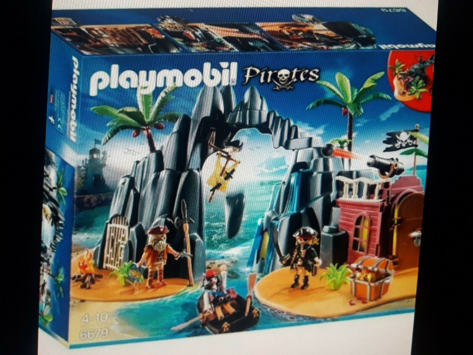 Reperes Ile aux pirates playmobil 6679