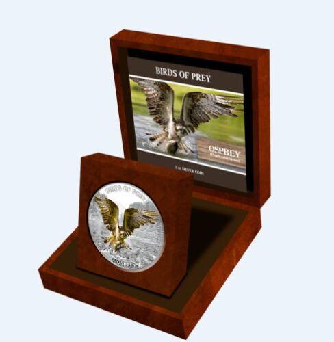 Osprey 1 oz  Silver Proof Coin 2013 Niue Birds of Prey