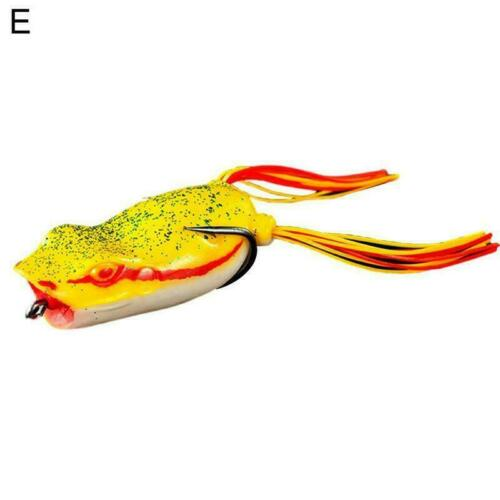 5.2cm 10g Bass Fishing Frog Bait Floating Fishing Lures Soft Bait Lure T4B8