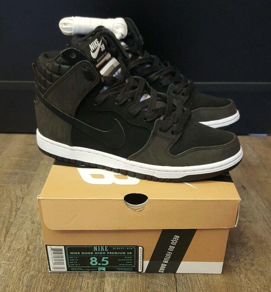 Nike SB Dunk High Premium Quickstrike Civilist 8.5 yeezy travis scott bred