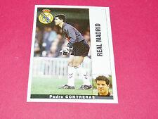 PEDRO CONTRERAS FUTBOL REAL MADRID PANINI LIGA 95-96 ESPANA 1995-1996 FOOTBALL
