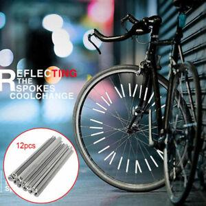 12PCS-Bicycle-Wheel-Spoke-Reflector-Reflective-Mount-Clip-Tube-Warning-Strip