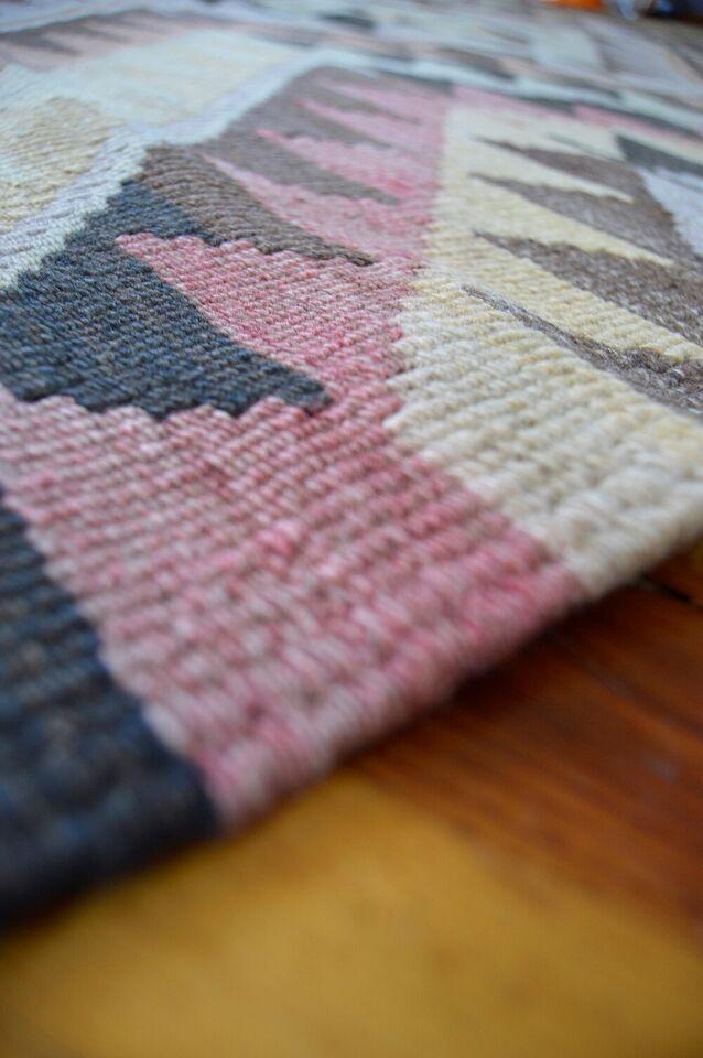 Løber, ægte tæppe, uld