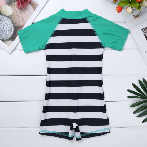 One-Piece Kid Girls Boys UPF 50 Sun Protective Swimsuit Baby Bathing Swimwear