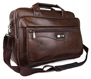 New-High-Quality-Faux-Leather-Pilot-Business-Executive-Briefcase-Laptop-Work-Bag