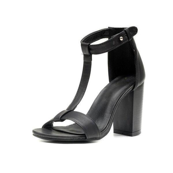Holzschuhe Holzschuhe Holzschuhe hausschuhe 9 cm elegant schwarze ferse quadrat sandalen simil leder d19490