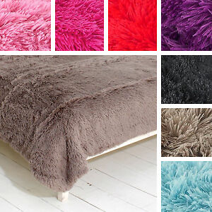 Cuddly-Shaggy-Soft-Shimmer-Faux-Fur-Glitter-Throw-Blanket-Catherine-Lansfield