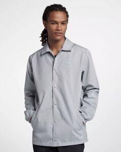 2d42f89300 Nike Air Jordan Jumpman men's Coaches Jacket AJ6795-012 Sz L NWT | eBay