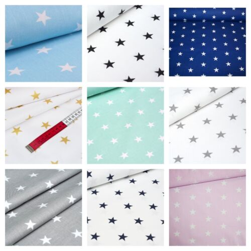 STARS FABRICS 100%COTTON , BEAUTIFUL,BEST QUALITY,WIDE width , various colours