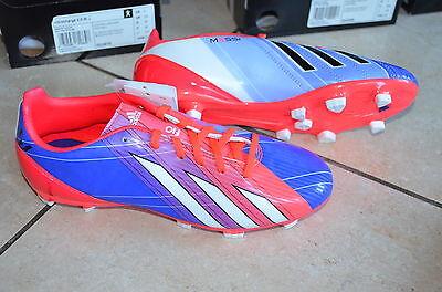 Adidas neue Fußballschuhe F10 TRX FG J Messi pink/lila/weiß Größe 38