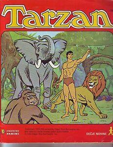 TARZAN-1979-PANINI-COMPLETE-ALBUM-WITH-ALL-STICKERS-EX-YU-EDT
