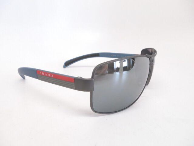 ac3b83bee1 Prada Sport SPS 54I DG1-2F2 Gunmetal w Grey Gradient Mirror Polarized  Sunglasses