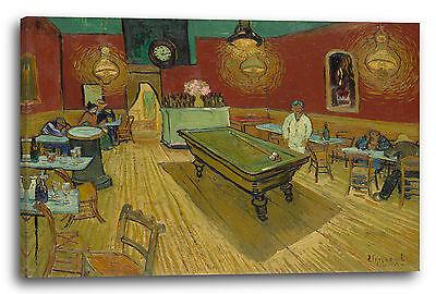 Vincent van Gogh Nachtcafe Poster Kunstdruck Bild 80x60cm