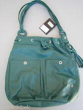 NEW* NIXON PURSE HANDBAG BAG HOBO VEGAN Green Burning Up