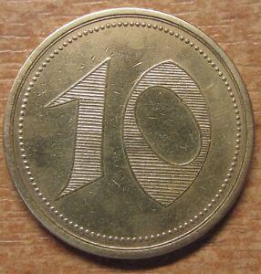 Germany-Notgeld-Token-Bielefeld-10-pfennig-1920-Rare