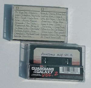 Guardians-Of-The-Galaxy-Awesome-Mix-Vol-2-MOVIE-SOUNDTRACK-New-Cassette-Tape